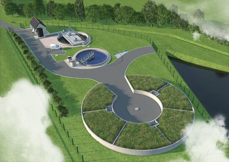 Construction d une nouvelle station d puration des eaux us es de type boues activ es sur la - Lagunage des eaux usees ...